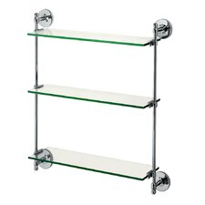 "<strong>Gatco</strong> Glass Taborets 20.5"" x 25"" Bathroom Shelf"