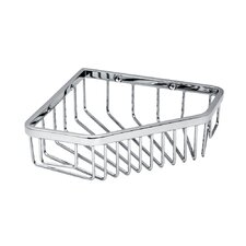 Corner Shower Basket in Chrome