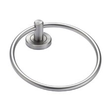 Latitude II Towel Ring in Satin Nickel