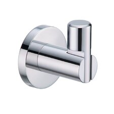 Channel Robe Hook in Chrome