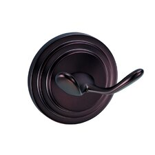 Marina Twin Robe Hook in Oil Rubbed Bronze
