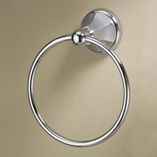 Monterey Towel Ring in Brushed Chrome