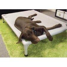 Elevated Aluminum Framed Pet Cot for Small Breeds