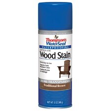 Traditional Brown Waterseal Wood Stain Spray Paint