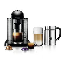 VertuoLine Coffee and Espresso Machine and Aero+ Bundle