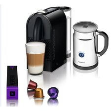 <strong>Nespresso</strong> U Espresso Maker with Aeroccino Plus Milk Frother Bundle