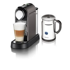 <strong>Nespresso</strong> Citiz Espresso Maker with Aeroccino Plus Milk Frother