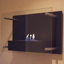 <strong>Bluworld</strong> Radia Wall Mounted Bio Ethanol Fuel Fireplace