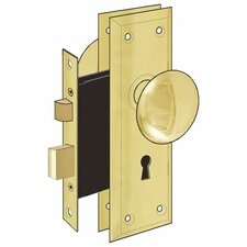 Old Time Mortise Interior Door Lock Set