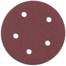 "5 Count 5"" 100 Grit Hook & Loop Abrasive Discs 7355010-05"