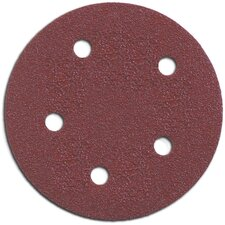 "5 Count 5"" 180 Grit Hook & Loop Abrasive Discs 735501805"
