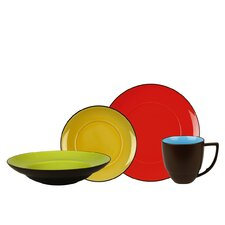 Duo 16 Piece Dinnerware Set