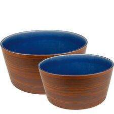 Pure Nature Serving Bowl (Set of 2)