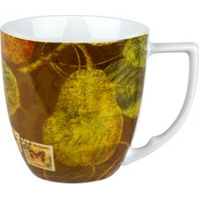 Accents Nature 12 oz. Pears Mug (Set of 4) (Set of 4)
