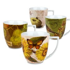 Accents Nature Assorted Mug (Set of 4)