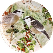 "Accents Traditions 8"" Joy Plate (Set of 4)"