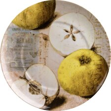 """Accents Nature 8"""" Apples Plate (Set of 4)"""