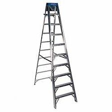 <strong>Werner</strong> 10' Aluminum Step Ladder