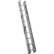24' Compact D-Rung Extension Ladder