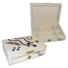 Mom's Jewelry Large Hinge Box