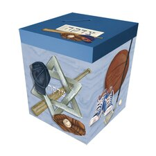 Sports Personalized Tzedaka Box
