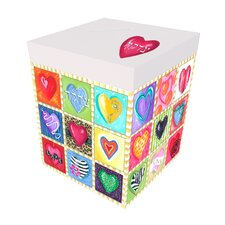 Sweet Hearts Personalized Tzedaka Box
