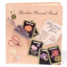 Home and Garden Record Book Photo Album