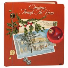 Home and Garden Christmas Through The Years Large Book Photo Album