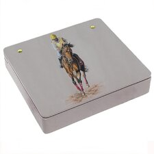 Jockey Decorative Storage Box