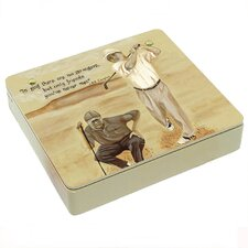 <strong>Lexington Studios</strong> A Swing and Putt Decorative Storage Box