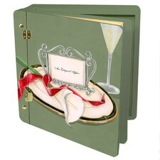 Wedding Table 4 Two Calla Memory Box