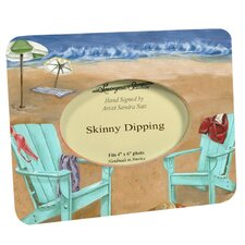 Travel and Leisure Skinny Dipping Picture Frame