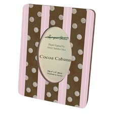Children and Baby's Cocoa Cabana Small Picture Frame