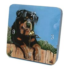 Animals Rotty Tiny Times Clock