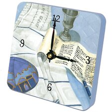 Judaica His Bar Mitzvah Tiny Times Clock