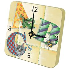 Children and Baby ABC Tiny Times Clock
