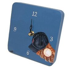 Sports Baseball Tiny Times Clock
