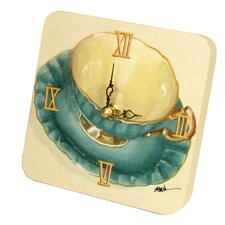 <strong>Lexington Studios</strong> Home and Garden Tea Cups Tiny Times Clock