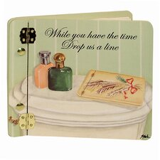 Home and Garden Bathroom Guests Book Photo Album