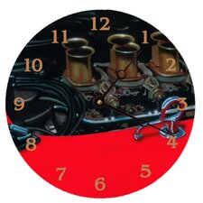 "18"" Vintage Engine Wall Clock"