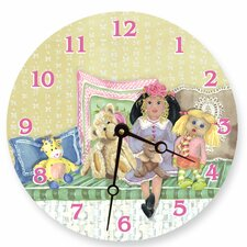 "<strong>Lexington Studios</strong> 10"" Izzy and Friends Wall Clock"