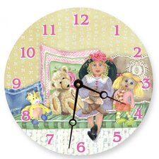 Izzy and Friends Round Clock