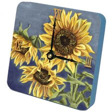 <strong>Lexington Studios</strong> Tuscan Sunflowers Tiny Times Clock