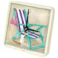 <strong>Lexington Studios</strong> Beach Chair Tiny Times Clock