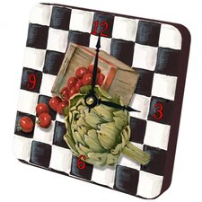 Artichoke Checker Tiny Times Clock