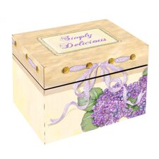 Journal Hydrangea Recipe Box