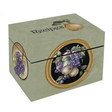 Fruit of Elegance Recipe Box