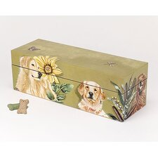 <strong>Lexington Studios</strong> Rowdy Retriever Horizontal Storage Box