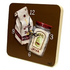Coffee Bags Tiny Times Clock