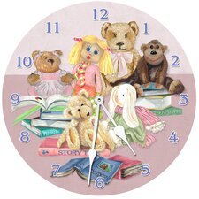 """18"""" Story Time Wall Clock"""